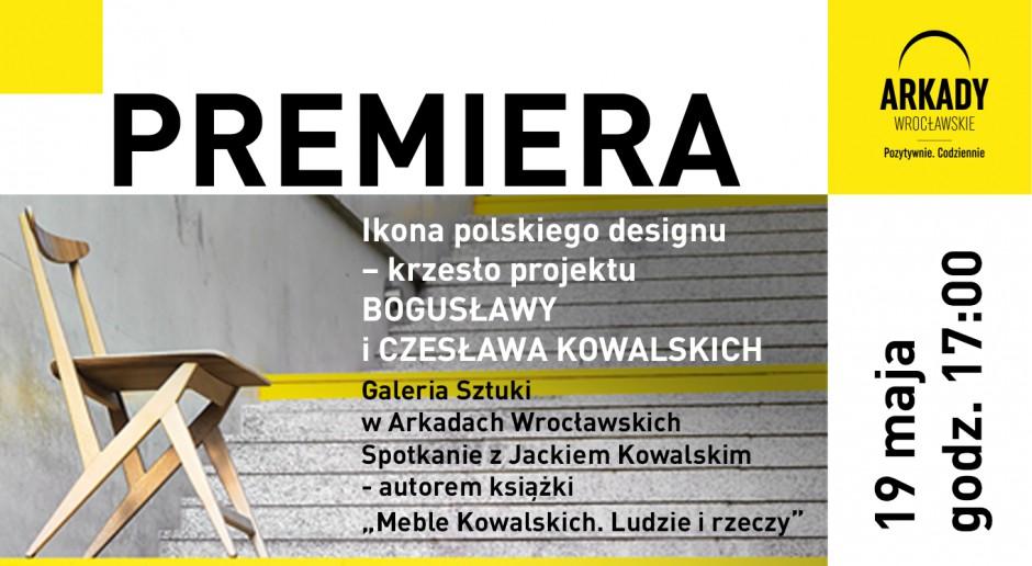 Ikona polskiego designu szkicu Bogusławy i Czesława Kowalskich w Arkadach Wrocławskich