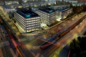 Nowa inwestycja biurowa w Łodzi już z kamieniem. To Imagine spod kreski BE DDJM