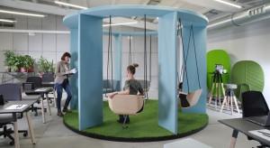 Kreatywnie urządzone biuro