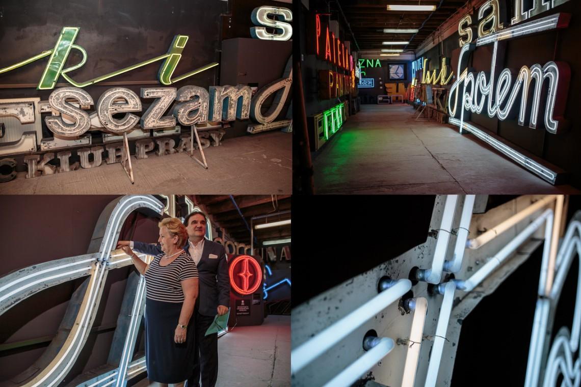 Neony dawnego Sezamu przekazane już do Muzeum Neonów