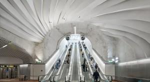 Sztuka schodzi do podziemi - stacja metra w Sztokholmie