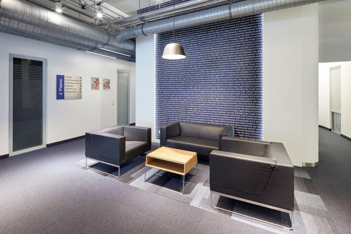 Wnętrze Bauer Media w nowej odsłonie