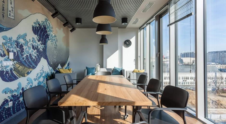 Oto wnętrza Ocean Plaza - nowego butikowego obiektu na biurowej mapie Warszawy