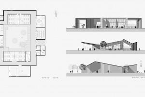 Samowystarczalna wioska szkicu Stefano Boeri Architetti