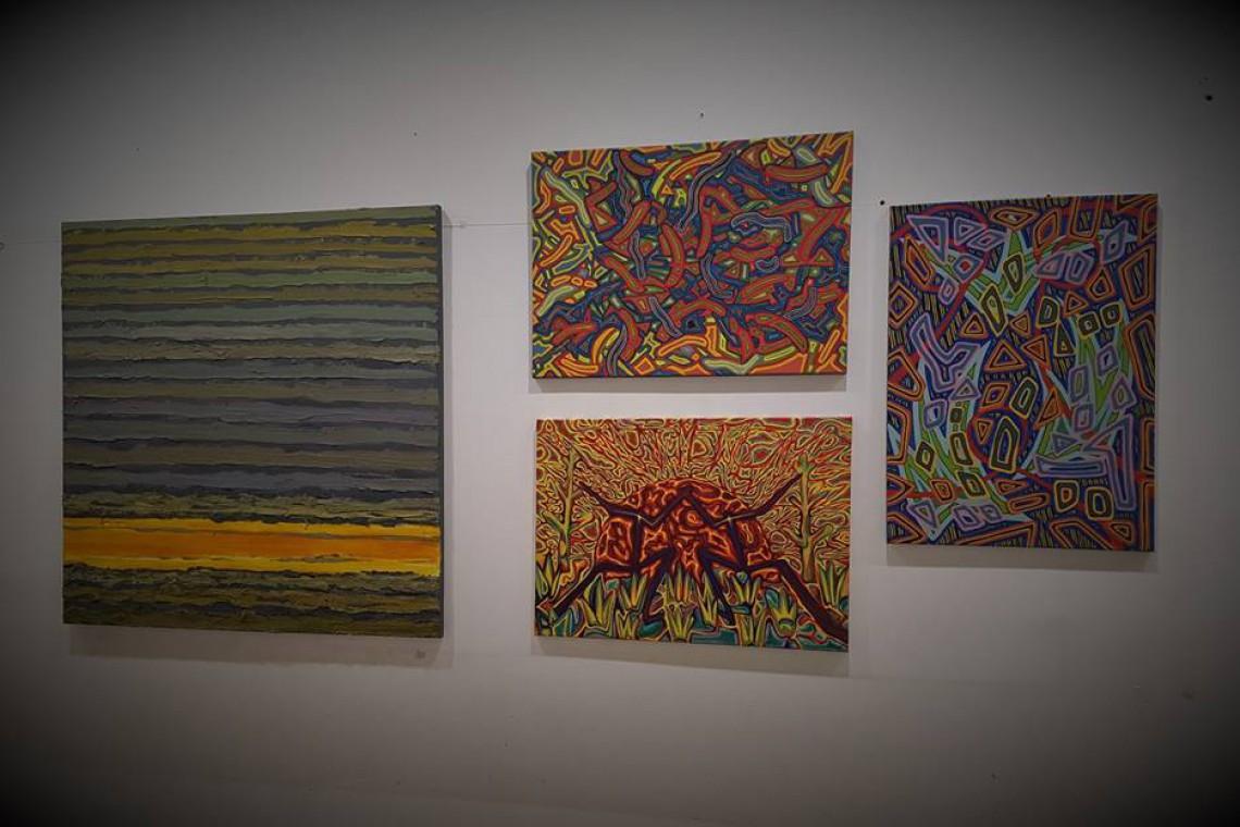Sztuka w centrum handlowym