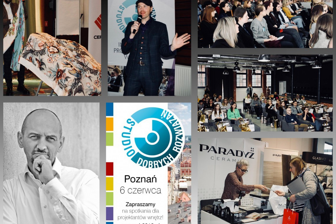 Wyjątkowe spotkanie z designerem Piotrem Wełniakiem. Zapraszamy na SDR!