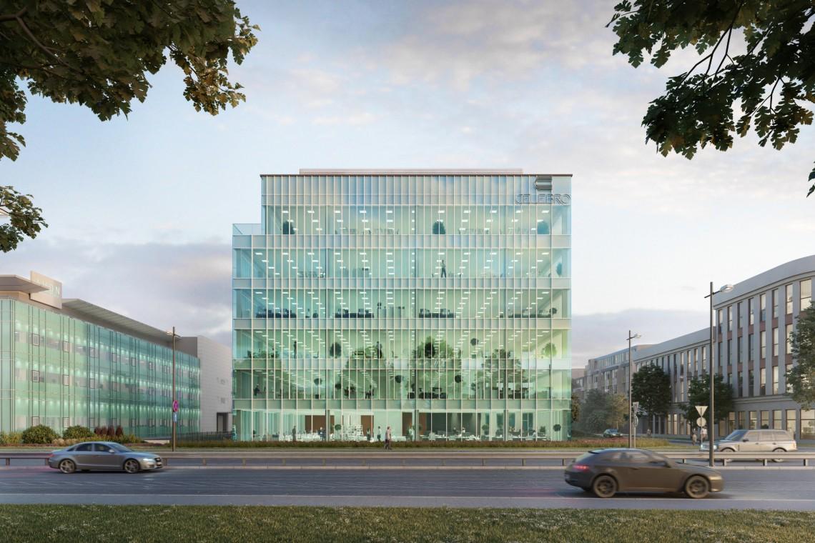 Kuryłowicz&Associates projektują nowy warszawski biurowiec. Oto Celebro