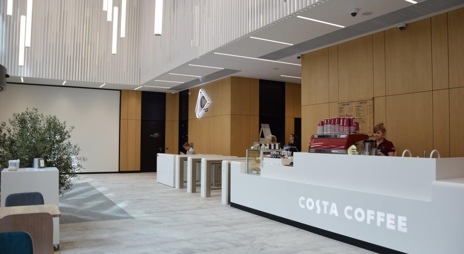 Spark z kompaktowym formatem Costa Coffee pod nadzorem pracowni Kuryłowicz&Associates