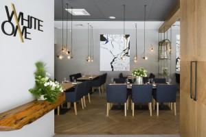 WhiteOne to nie jest zwykła restauracja. Aranżacja i menu zachwyca