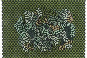 Perski ogród na dywanie