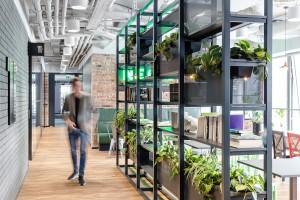Tak pracuje Onet, Business Insider i Forbes. Oto biuro niczym brooklińska kawiarnia szkicu Workplace Solutions
