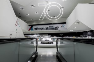 Porsche na wystawie