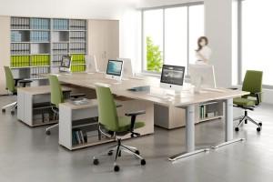 Od nakrycia stołu do open space'a, czyli historia biura