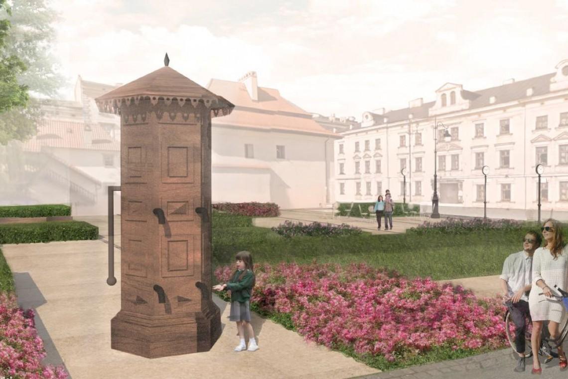 Ogród sensoryczny zamiast parkingu. Tak będzie wyglądał pl. Świętego Ducha w Krakowie