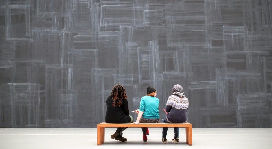 Rzeźby Adolfo Wildta na wystawie