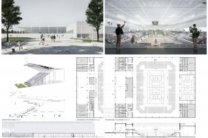 Tak może wyglądać nowy stadion GKS-u Katowice. To projekt RS Architekci