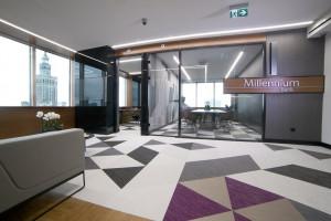 Niezwykłe miejsce w hotelu Marriott z widokiem na Pałac Kultury. To dzieło Eksner Industry