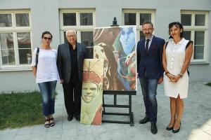 Artystyczne podwórko Wojciecha Siudmaka czeka na start