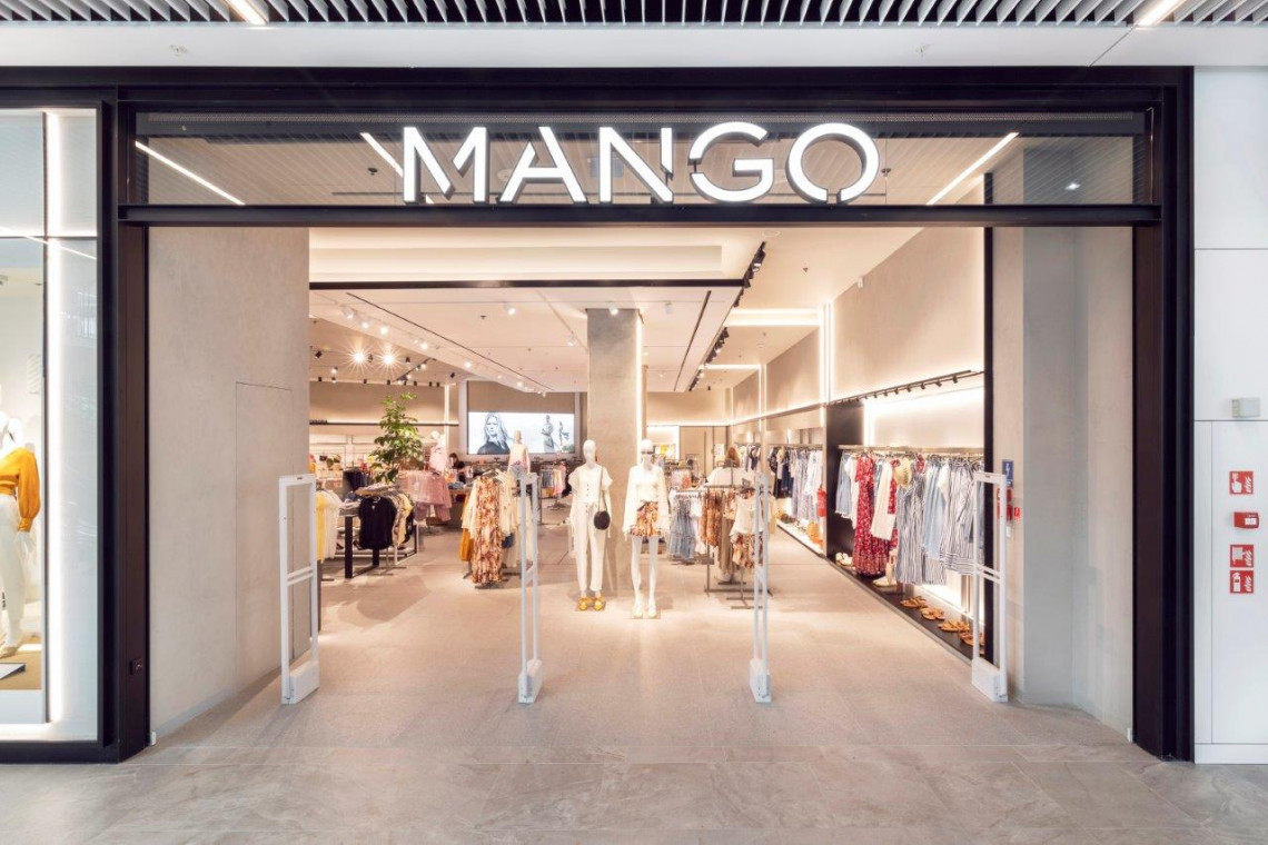 Tak się prezentuje salon Mango w Forum Gdańsk