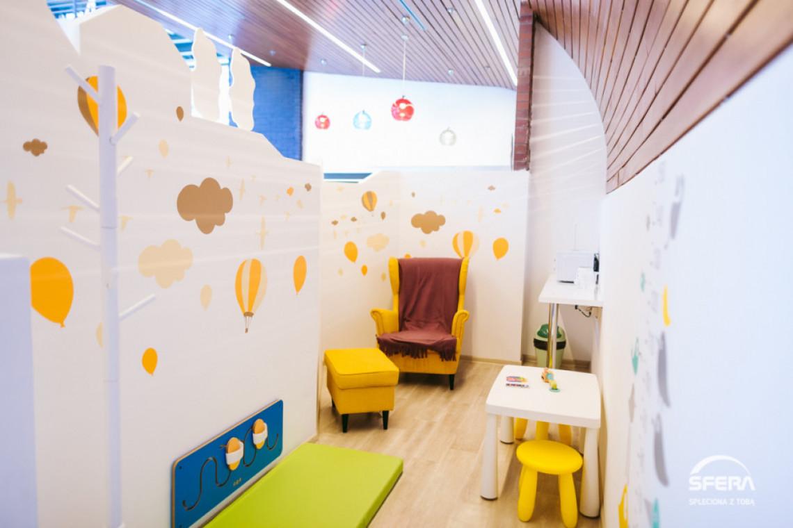 Galeria Sfera z niezwykłą przestrzenią dla najmłodszych