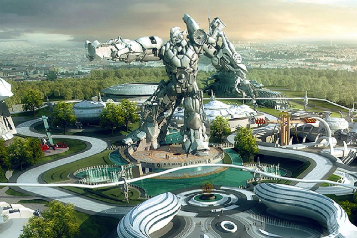 Oto East Science Valley - największy na świecie park rozrywki oparty na wirtualnej rzeczywistości