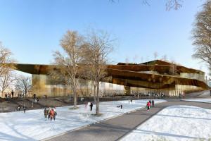 Wyjątkowy pomysł francuskich architektów na Muzeum Rewolucji Godności w Kijowie