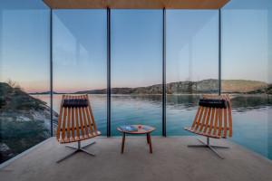 Rzuć wszystko i jedź... na norweską wyspę. Hotel szkicu Snorre Stinessena to projekt, jakich mało