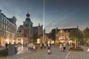 Rewaloryzacja placu Kolegiackiego w Poznaniu coraz bliżej