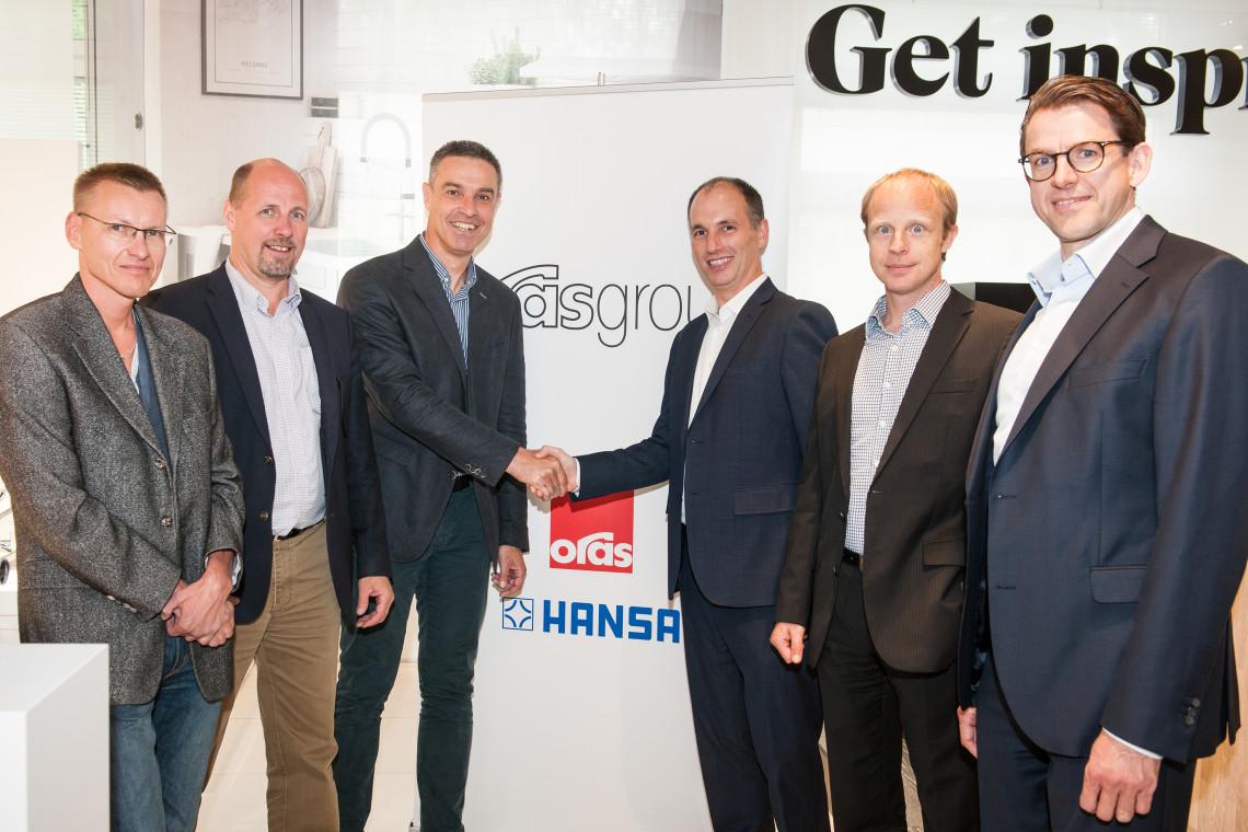 Grupa Oras inwestuje w technologię cyfrową i przejmuje szwajcarską firmę Amphiro