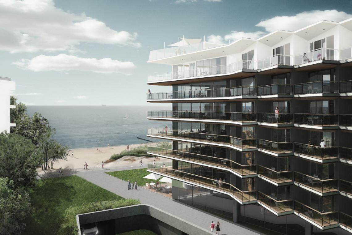 Seaside Park Hotel szkicu RDZ Architekten coraz bliżej finiszu