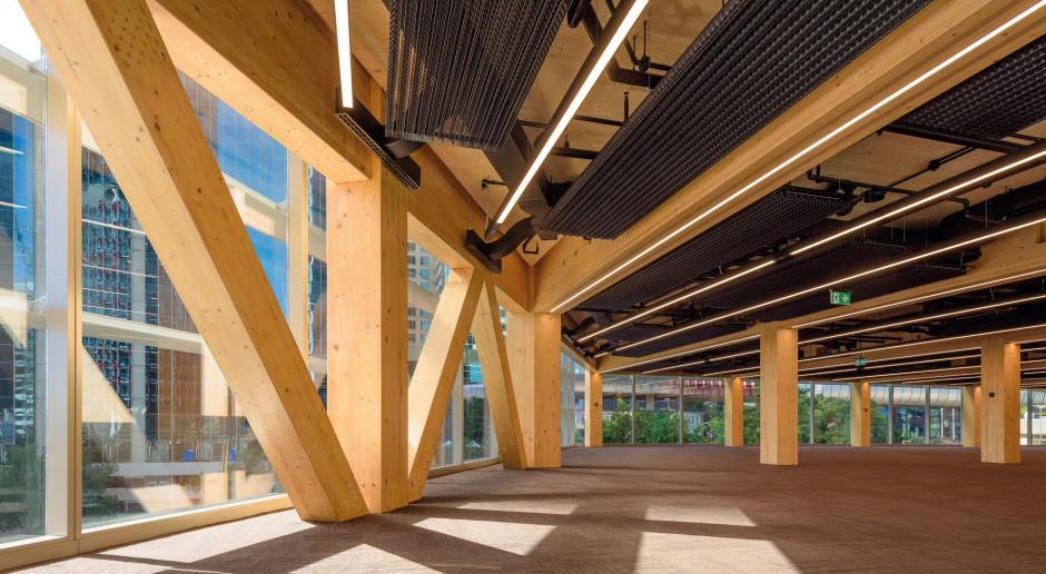 Przyszłość będzie z drewna – International House w Sydney