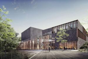 Nie wygrali, ale projekt robi wrażenie. Oto pomysł HRA Architekci na Międzynarodowe Centrum Muzyki