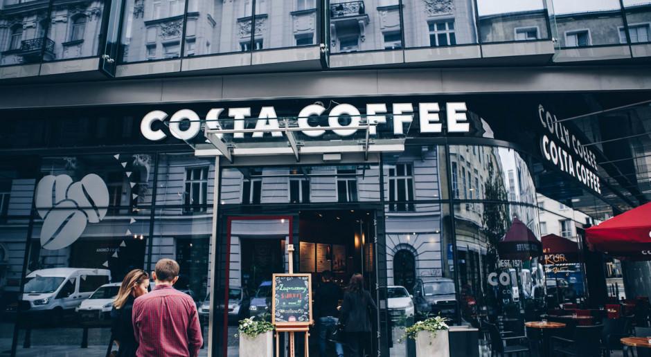 Kawiarnie Costa Coffee z nowym designem
