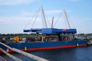 To najbardziej skomplikowana faza budowy mostu w Sobieszewie