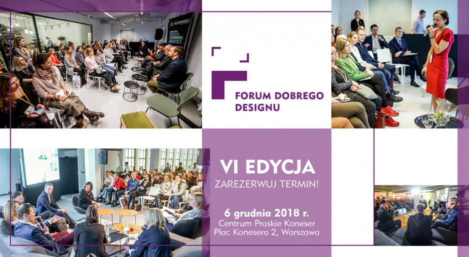 Forum Dobrego Designu 2018: co w programie?