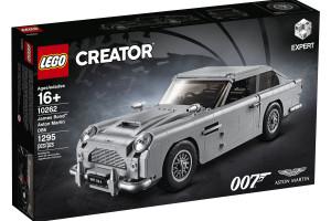 To było ulubione auto Jamesa Bonda. Teraz złożysz je z klocków Lego