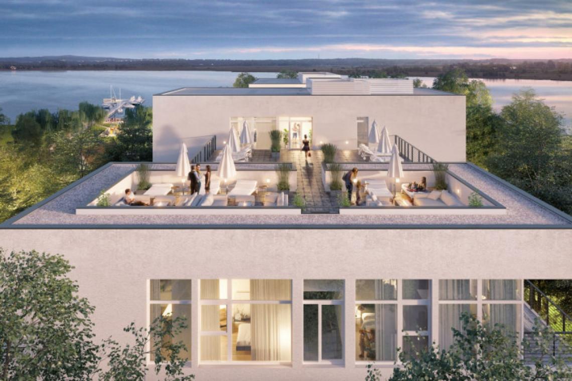 Nowa aparthotelowa bryła na finiszu. Nadmorski krajobraz dodaje uroku