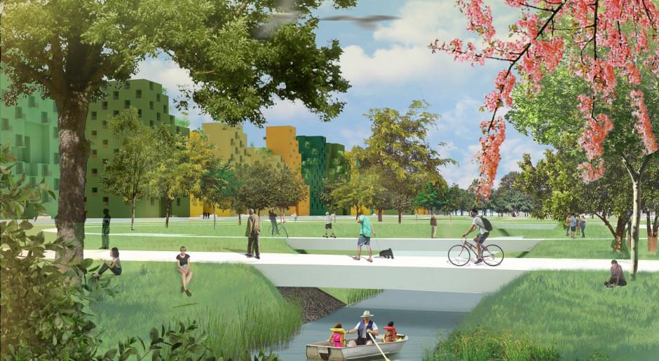 MVRDV nie zwalnia tempa. Teraz zaprojektuje całą dzielnicę o nazwie... Hyde Park