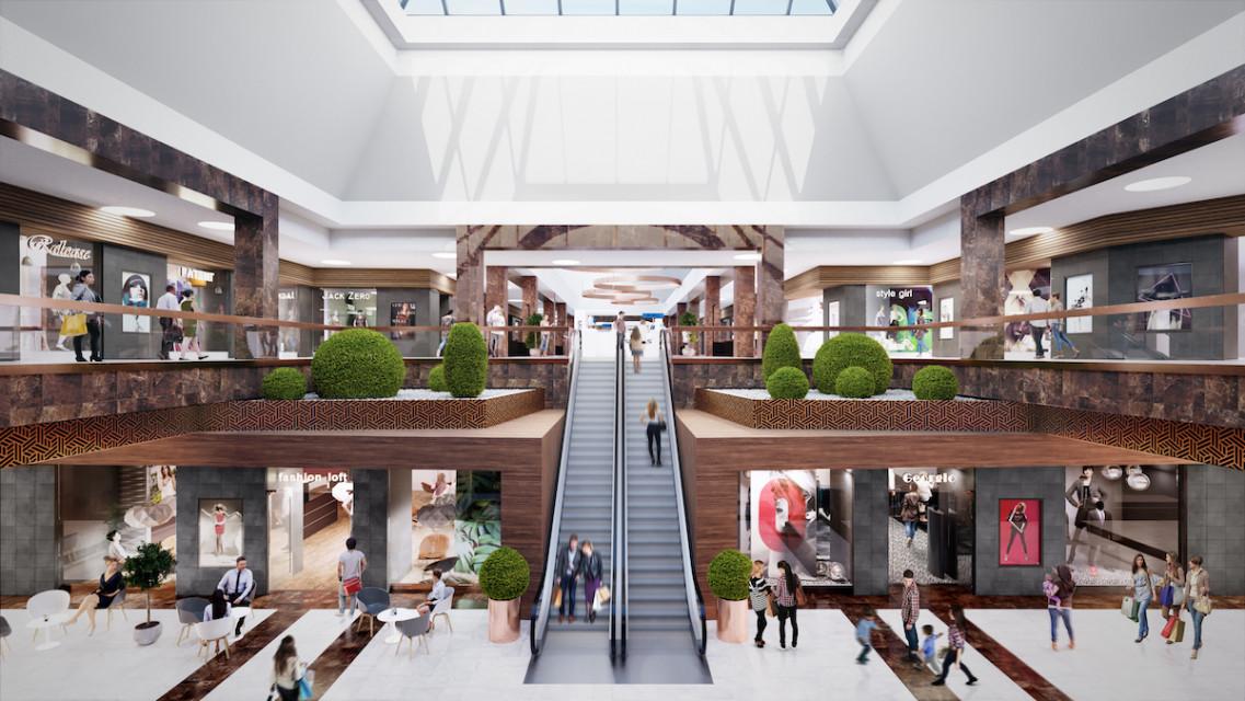 """Tak będzie wyglądała krakowska """"Plaza"""" po przebudowie. To projekt Kroh&Partner"""