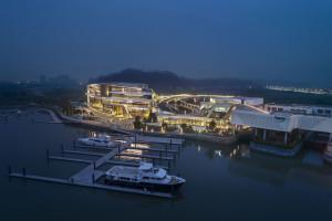 To pierwszy prywatny port w Chinach. Powstał na deskach słynnej pracowni