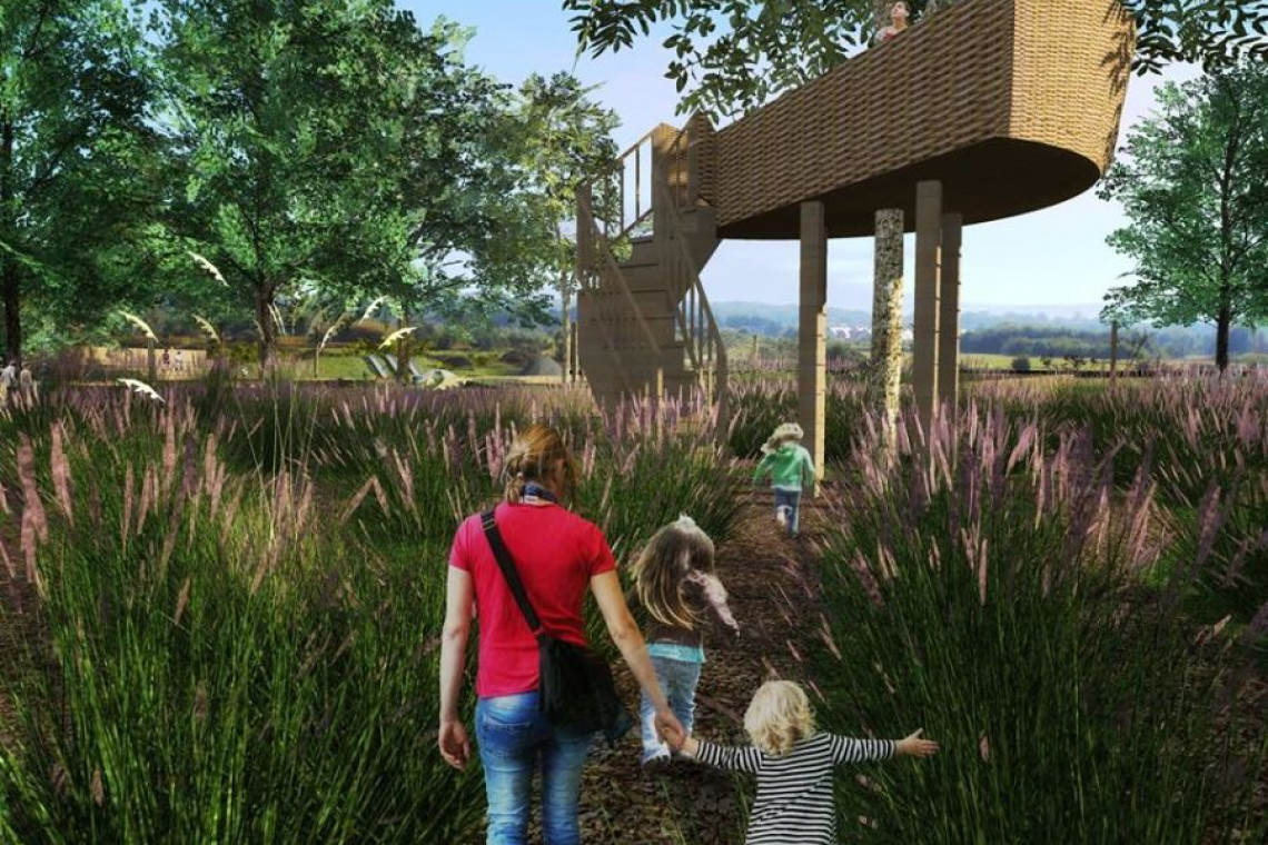 Park Żeromskiego w nowej odsłonie. Pojawi się domek na drzewie i edukacyjny plac zabaw