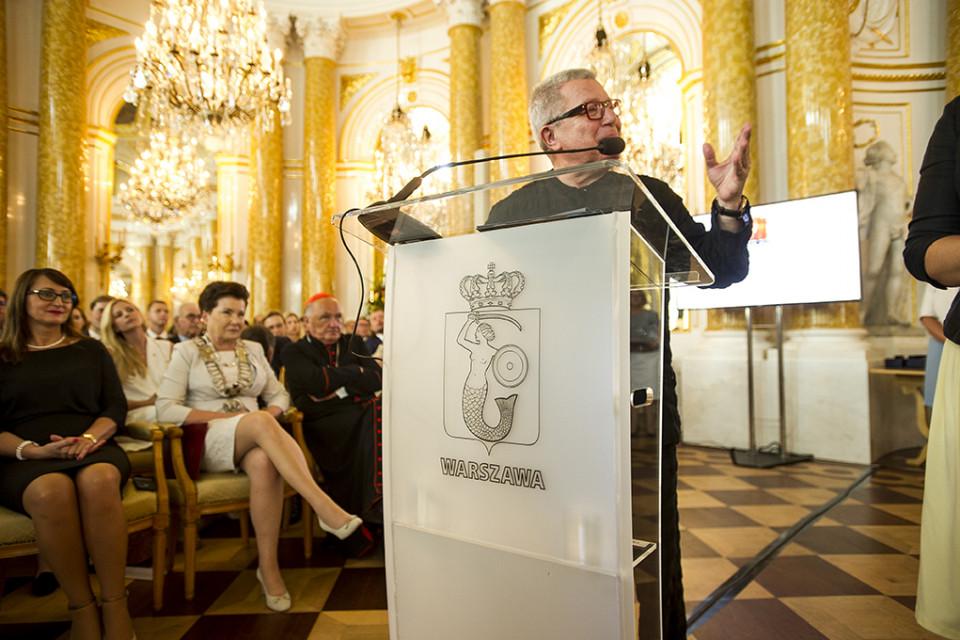 Daniel Libeskind z nagrodą Miasta Stołecznego Warszawy. Zobacz, jak wyglądała uroczystość przyznania nagrody