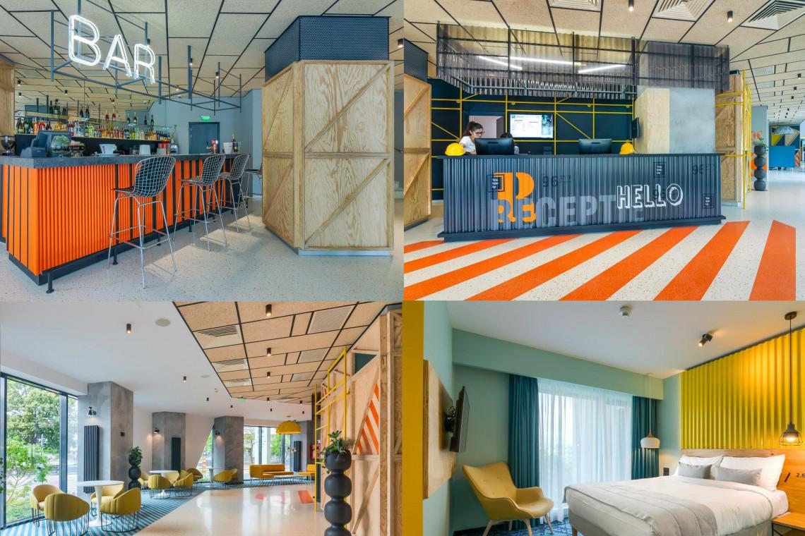Elementy konstrukcyjne przedstawione w stylu pop art? To możliwe w najnowszym hotelu Ibis Styles