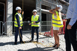 Co nowego na budowie Deo Plazy i Granarii? Jest wiecha!