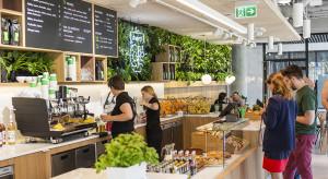 Przytulnie, zielono i kawowo w D48