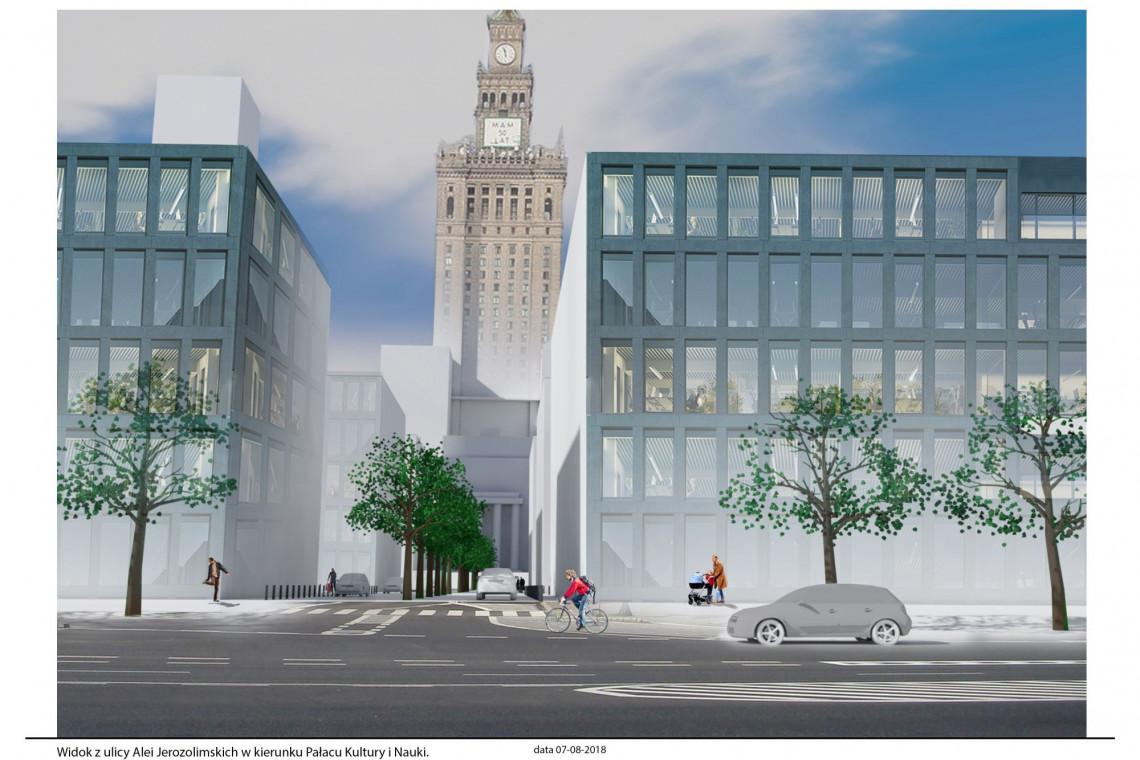 Plac Defilad - nowe centrum Warszawy