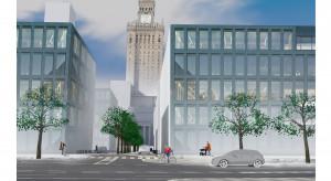 Pomysł na Plac Defilad:  współczesna zabudowa typu mixed-use