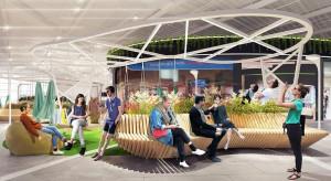 Architekci z Tremend odmienią PH Auchan Bielany. Wkrótce park handlowy zaskoczy nowoczesnym wnętrzem