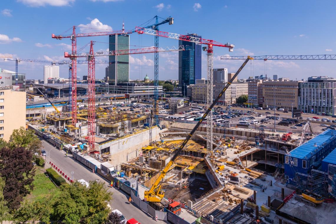 Tak powstaje Varso. To będzie najwyższy budynek w Polsce