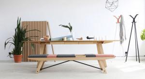 Nietuzinkowa ławka do poczekalni czy lobby biura
